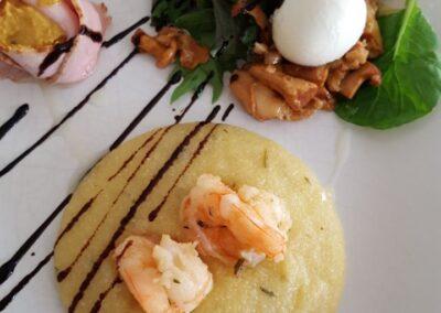 Trattoria Pizzeria Calabria, Speisen