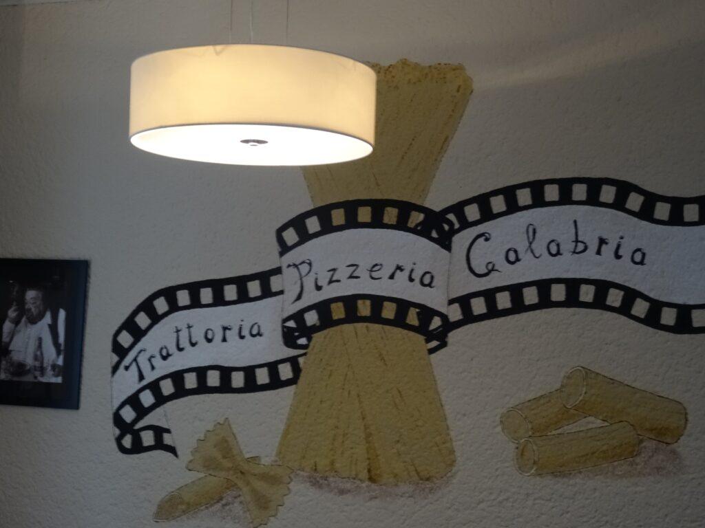 Trattoria Pizzeria Calabria, Ambiente