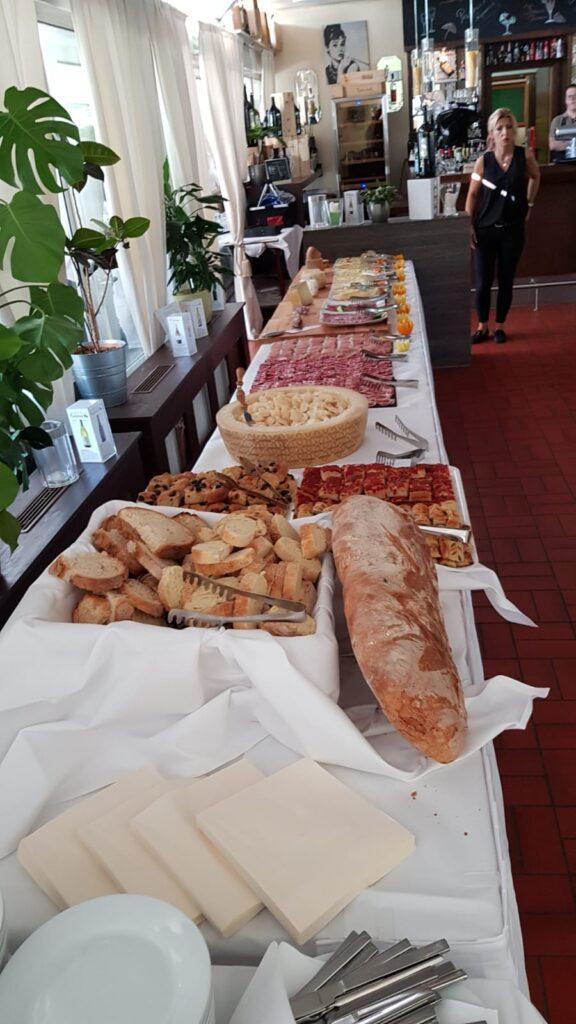 Trattoria Pizzeria Calabria, Buffet