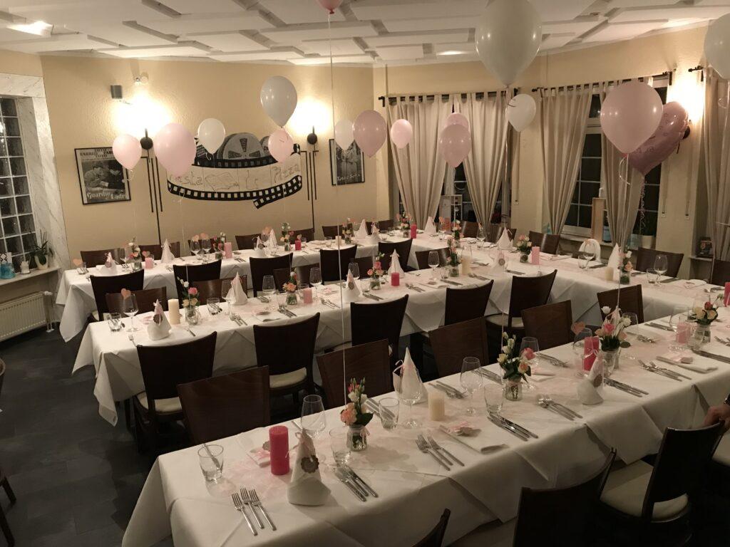 Trattoria Pizzeria Calabria, private Feiern